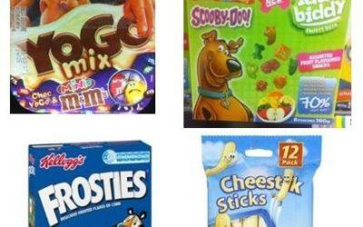 Kids Cereals and Snacks Aren't Healthy